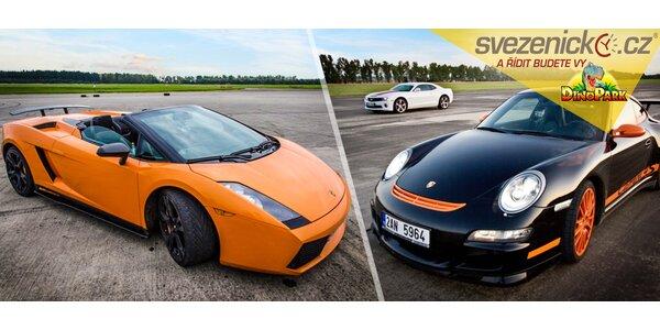Projížďka ve Ferrari, Lamborghini, Ariel Atom aj.