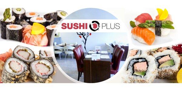 Degustační sushi menu - 28 ks i japonská zmrzlina