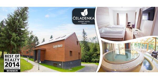 Luxusní wellness léto v horském domě Hotelu Čeladenka****