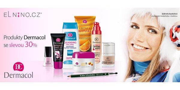 30% sleva na nákup kosmetiky Dermacol
