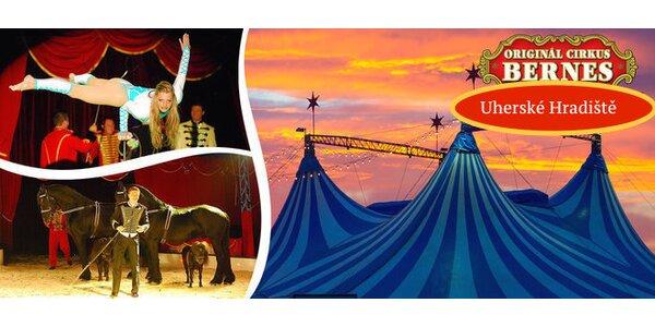 Velkolepá show cirkusu Bernes v Uherském Hradišti