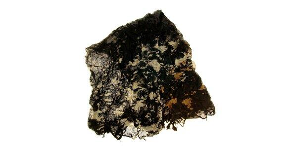 Dámský černo-bílý vzorovaný šátek Fraas