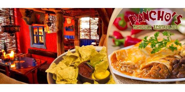 Ochutnávka mexické kuchyně pro dva