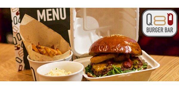 Rozvoz 2× Burger menu s hranolky