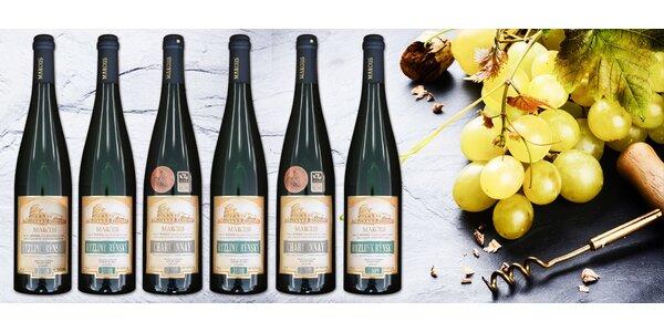 Dárkový karton 6 oceněných moravských vín