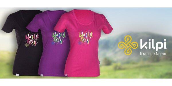 Ležérní dámské tričko Kilpi Areta