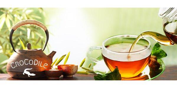 Degustace prémiových druhů čaje v moderní nově otevřené čajovně CroCoDile!