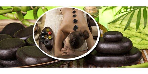 Celotělová masáž lávovými kameny v délce 90 minut