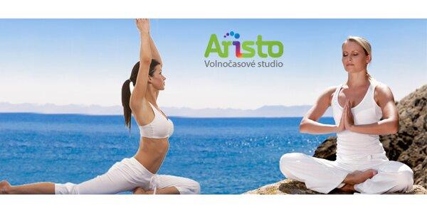 Permanentky na 10 lekcí cvičení pro ženy - powerjoga, pilates, jóga pro bolavá…