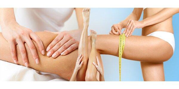 Ruční lymfatická masáž + tělová svíce
