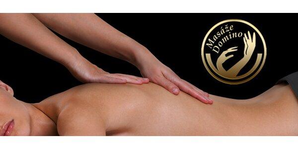 60 minut hluboké relaxace při masáži ve tmě