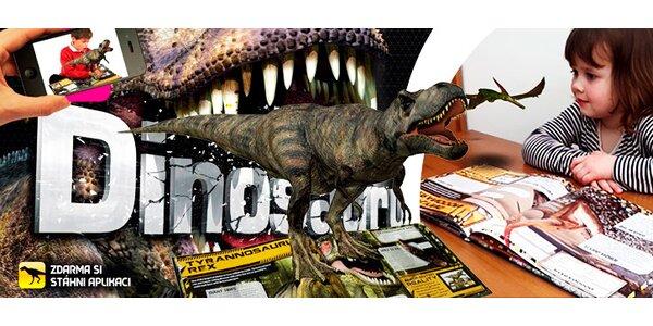 """""""Ožívající"""" knížky o vesmíru a dinosaurech"""
