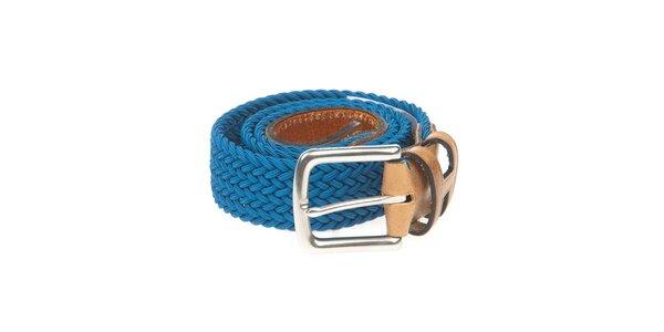 Pánský hnědo-modrý pásek Hackett London