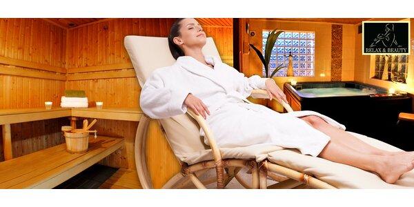 Privátní relaxace v Relax Centru Slavia