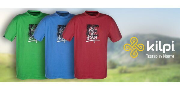Pánské tričko Kilpi s krátkým rukávem