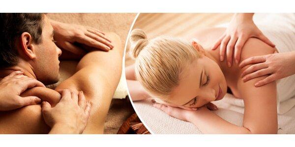 45minutová masáž zad - Salon Majka