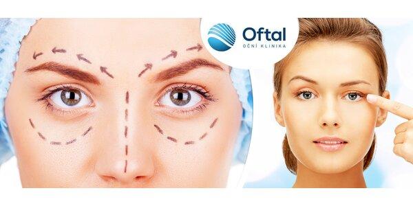 Operace očních víček na specializované klinice Oftal