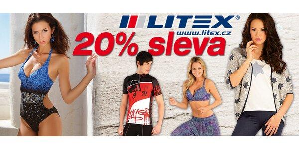 20% sleva do e-shopu značky Litex