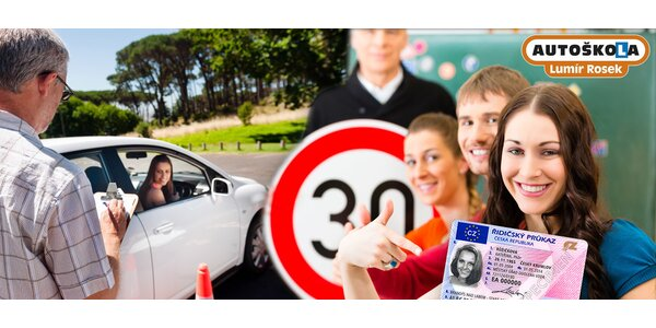 Rezervace místa v autoškole Rosek na řidičák B