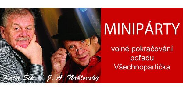 Minipárty s Karlem Šípem