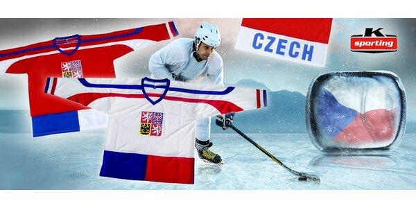 Fanouškovský hokejový dres národního týmu