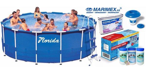 Bazén Florida včetně filtrace a příslušenství