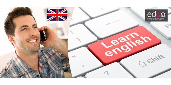 Studium angličtiny po telefonu a online