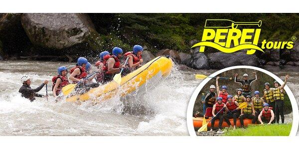 Raftování na řece Moravě vč. půjčení výbavy