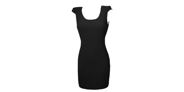 Dámské černé šaty s krajkou Virginia Hill