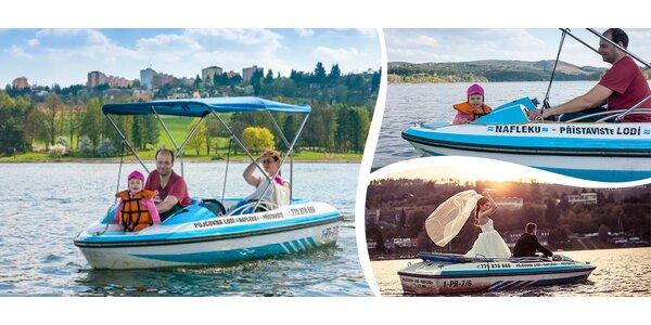 33% sleva na lodičky na brněnské přehradě