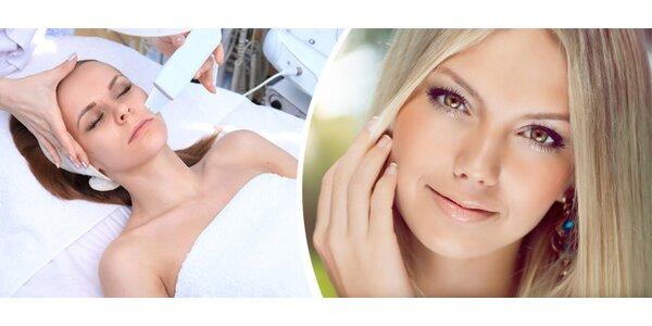 Hloubkové ošetření pleti s masáží obličeje