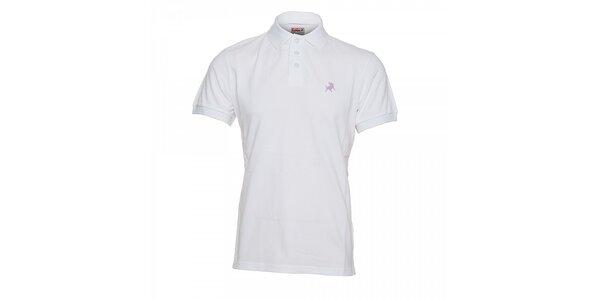 Bílé pánské polo tričko Lois Filipo