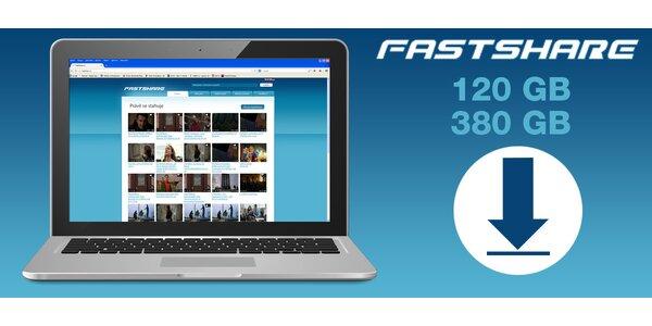 FastShare.cz: kredit na pořádnou porci GB
