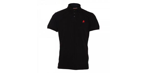 Černé pánské polo tričko Lois Filipo
