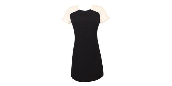 Dámské černo-bílé retro šaty Virginia Hill