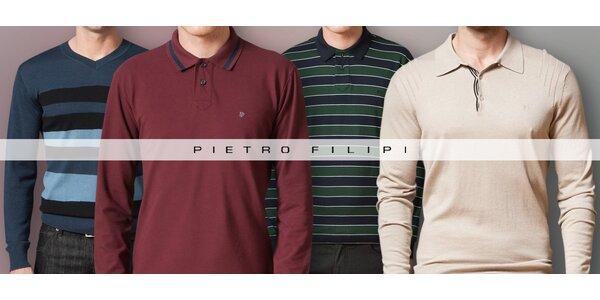 Ležérně elegantní pánská móda Pietro Filipi