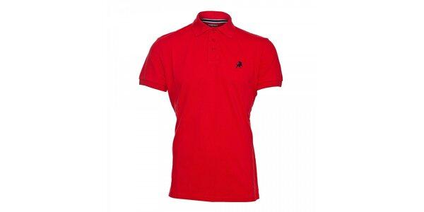 Červené pánské polo tričko Lois Filipo