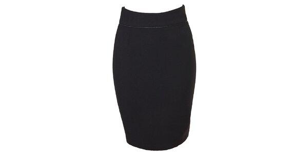 Dámská černá sukně se zipem Virginia Hill