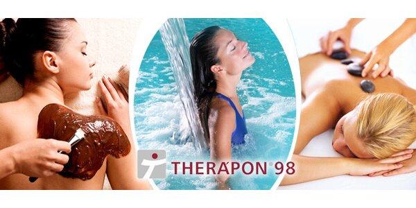 Relaxační masáž s bazénem a vířivkou za půlku