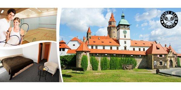 3 dny s polopenzí u hradu Bouzov