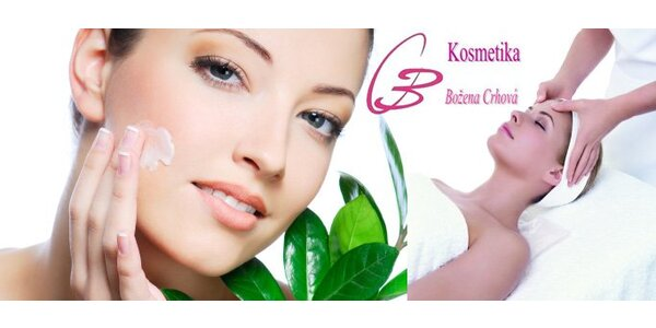 390 Kč za kosmetické ošetření pleti kolagenovou nebo čokoládovou maskou.