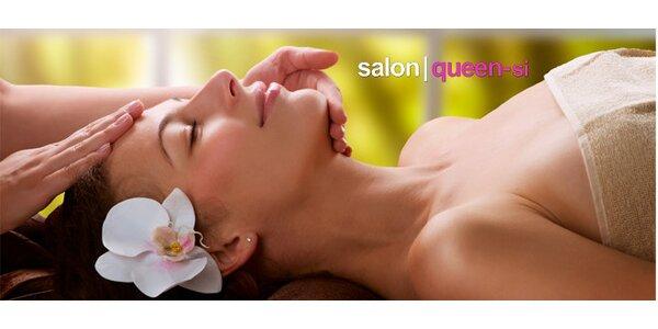 Indická masáž hlavy nebo celotělová relaxační masáž