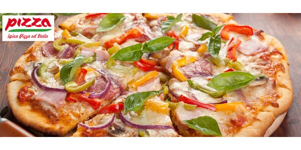 Lahodná špica pizza od Itala až domů