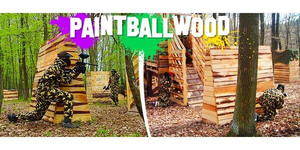 TŘI hodiny paintballu v přírodě