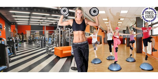 Fitness, studiové lekce i lymfatické přístroje