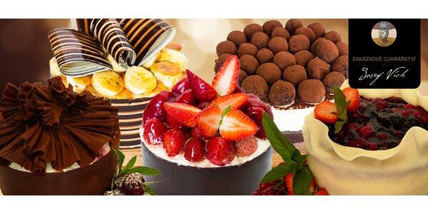 Úžasné domácí dorty z cukrářství Josef Vích