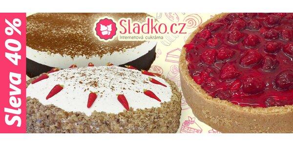 Sleva 40 % na sortiment e-shopu Sladko.cz