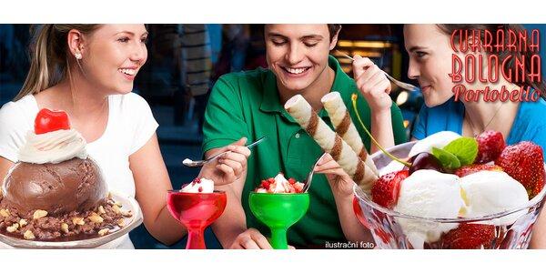 2 výtečné zmrzlinové poháry pro hezčí den