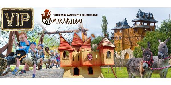 Vstupenka do zábavně-naučného Parku Mirakulum