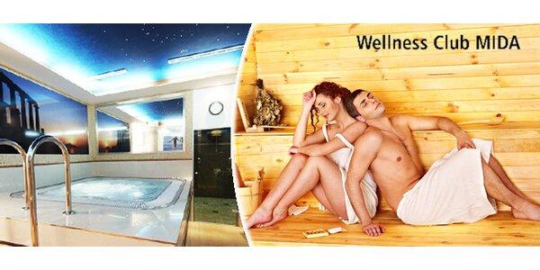 Privátní sauna s vířivkou pro dva (2 hod.)